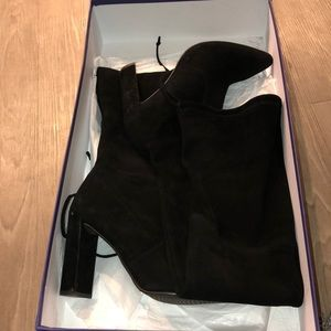 Stuart weitznan boots, over the knee